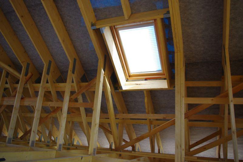 Non class auto construction de notre maison en bois for Temps de pose d un velux